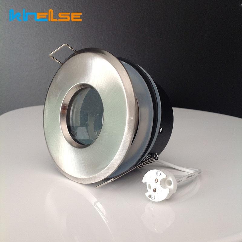 Recessed Shower Downlight Kit Spot Light Fitting Bathroom