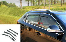 Window Wind Visor Moulding Awnings Shield For MG GS 2015 2016 2017 car styling