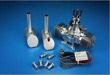 Dle60 60cc модель самолета газа Двигатели для автомобиля для Радиоуправляемая модель самолета