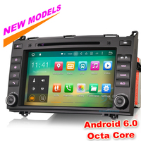 Octa-Core Android 6.0 Auto DVD GPS Autoradio voor Mercedes Benz A-Klasse W169 B-Klasse W245 Sprinter Viano Vito Autoradio Navigatie