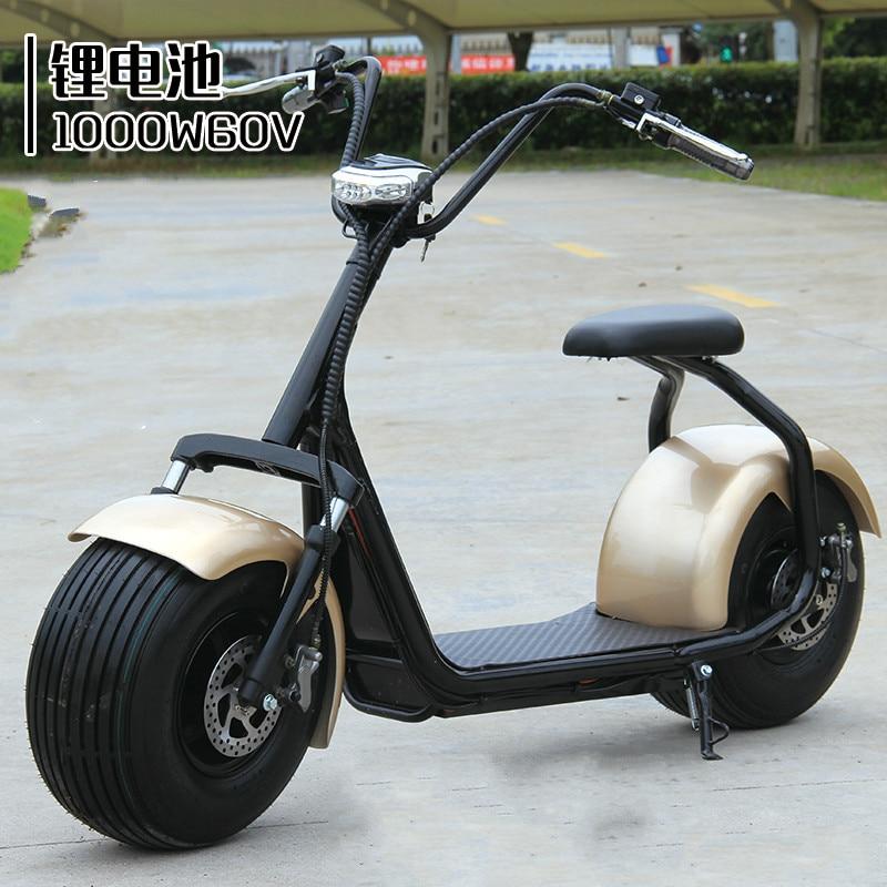 60v electric bicycle harley car adult ebike battery car. Black Bedroom Furniture Sets. Home Design Ideas