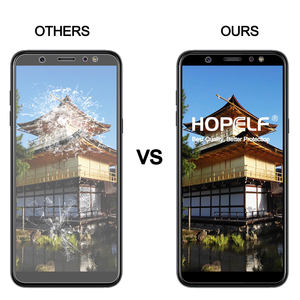 Image 4 - Tempered Glass for Samsung Galaxy A6 Plus 2018 Screen Protector 9H 2.5D Phone Protective Glass for Samsung Galaxy A6 2018 Glass
