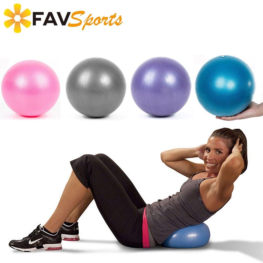 2018 Mini ejercicio deportes Yoga gimnasia Balance Pilates antideslizante  25 cm entrenamiento masaje Ballon ejercicio gimnasio Bola pilates 0fc171b532d8