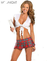 Sexy Costumes For Adults Halloween Sexy Schoolgirls Short Skirts Sexy Role Play Costumes School Girl Costume