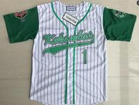 DeWayne Warren G Baby Jarius Evans 1 Kekambas Hardball Baseball Jersey Movie Jerseys White S XXXL