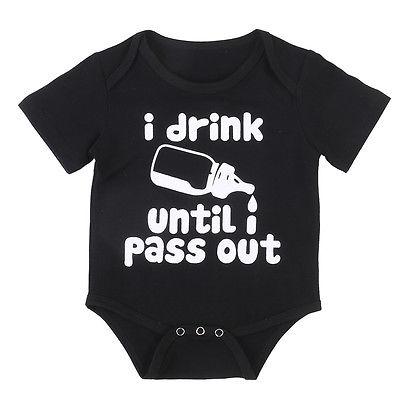 77cb30445603 Summer 2017 Milk Bottle Newborn Baby Boy Girl Romper Short Sleeve ...