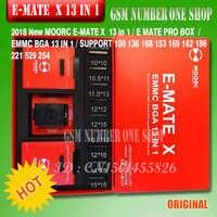Ewest ORIGINAL Emate caixa E-companheiro X EMMC BGA 13 EM Apoio 1 BGA100/136/168/ 153/169/162/186/221/529/254 para caixa jtag Fácil além de UFI