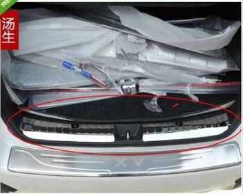 Nierdzewna tylnego zderzaka ładunku Protector sill osłona podstawy dla subaru xv 2009 2010-2013