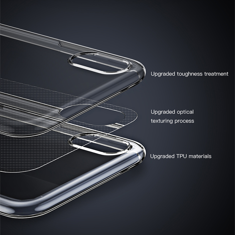 Baseus Ultra Thin Transparent Case For iPhone 11 Pro Max Case Luxury Soft Silicone Back Cover For iPhone 11 Pro X Xs Max XR Case 3