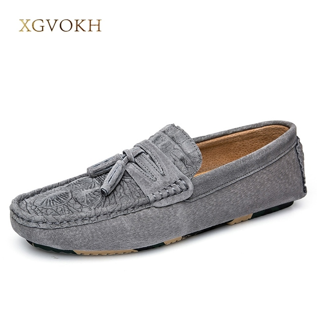 72e51b2e5df1e US $49.62 |Men Shoes Crocodile Pattern Leather Loafers Slip on Casual Flats  Driving Boat Shoes for Men Italian Luxury Fashion Moccasins-in Men's ...