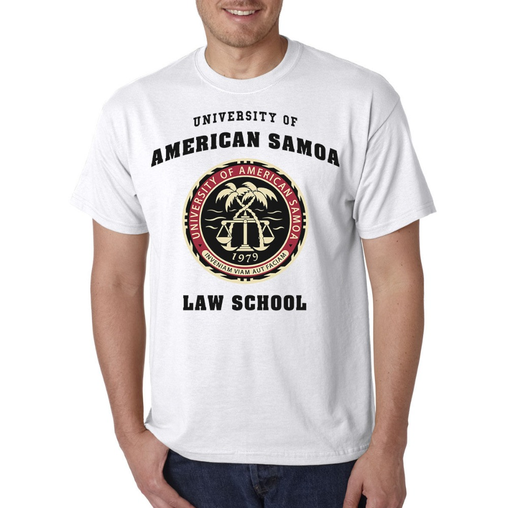 University of American Samoa Law School T-Shirt - Heisenberg Saul Good Man Summer Clothing Cotton T-Shirt High Quality Cool Tops image