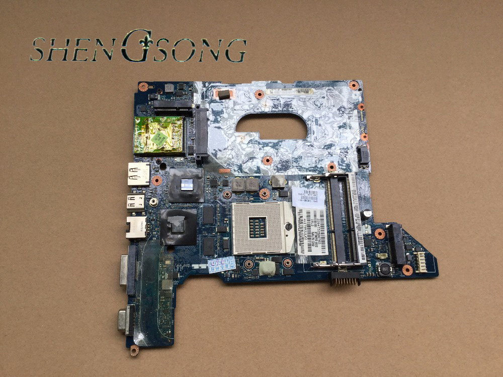 Free Shipping Laptop motherboard 590349-001 for HP Pavilion DV4 DV4-2000 laptop NAL70 LA-4107P system board free shipping 516294 001 board for hp pavilion dv7 laptop motherboard with for intel pm45 chipset 150720c