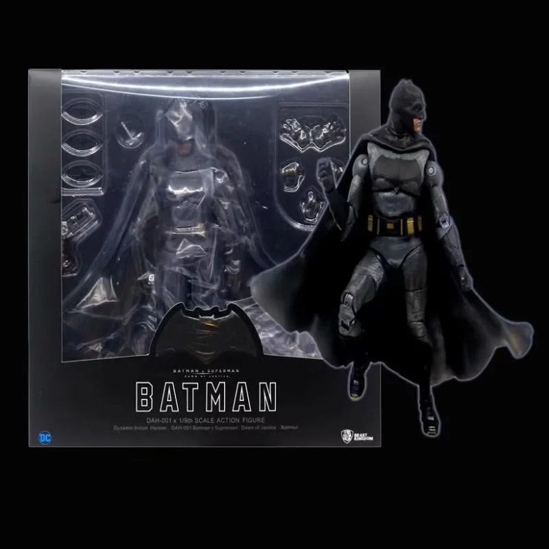 Anime Batman VS Superman Dawn of Justice Arkham Knight DAH-001 1/9 Egg Action Figure gift collection childrens toys
