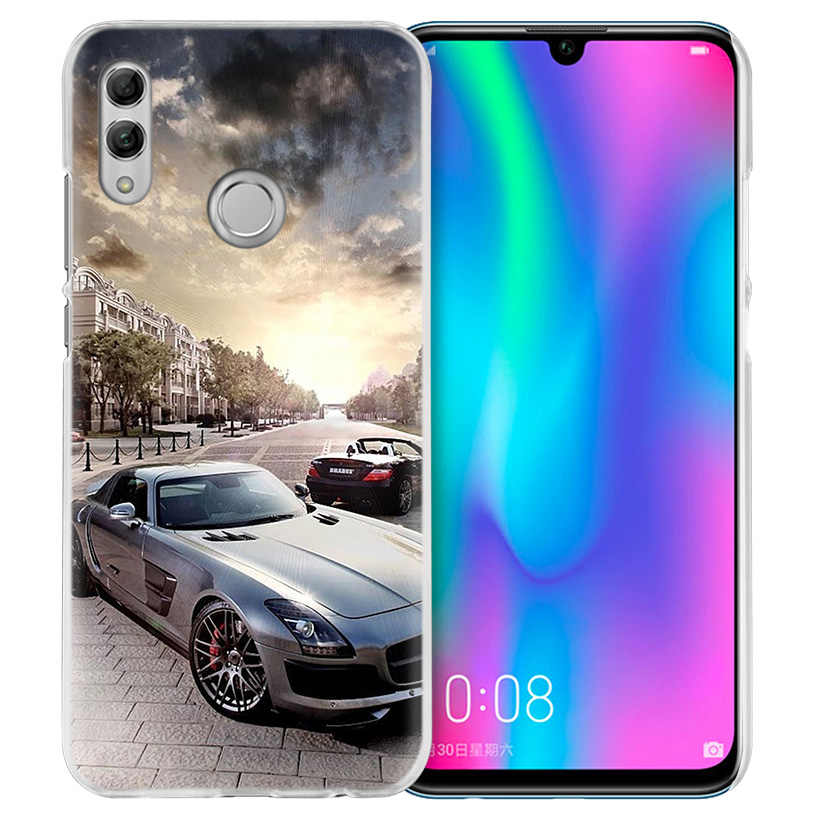 Sports Super Car Case for Huawei Honor 8X Y9 9 10 Lite Play 7C 8C 8S 8A 7S 7A Pro V20 20i Y6 Y7 Y5 2019 Hard PC Capa Phone Cover