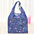 Floral Foldable Wallet Style Reusable Women Shopping Bag Nylon Tote Bags free shipping