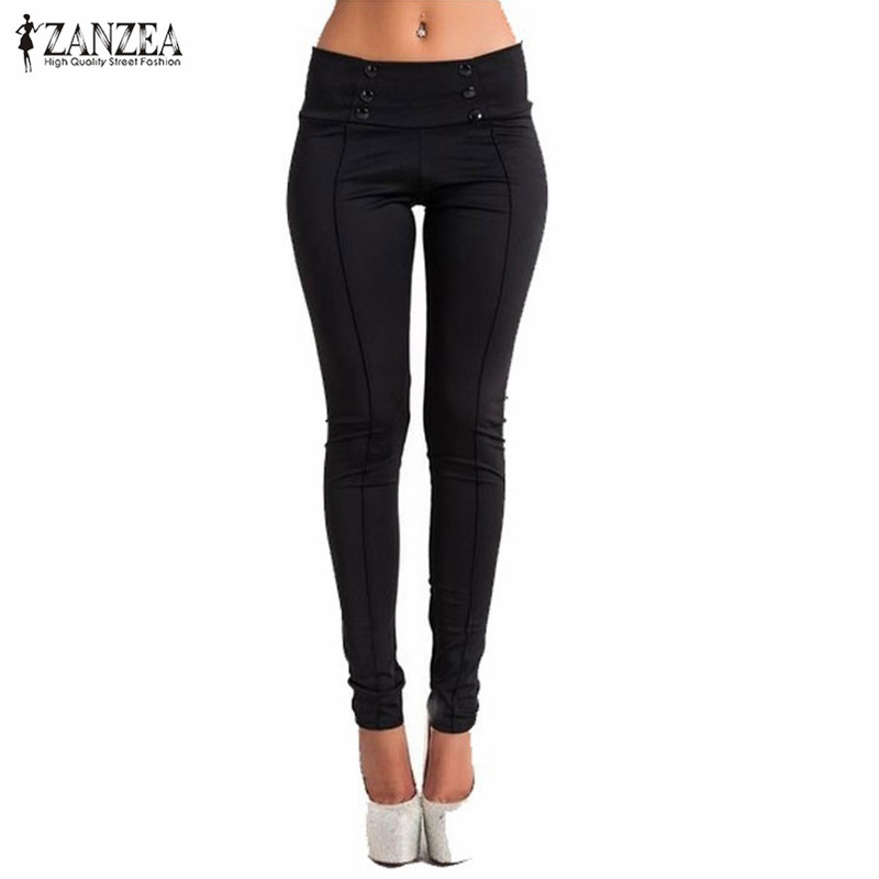 2018 Autumn Women Fashion Vintage Slim Low Waist Pants Sexy Ladies Casual Skinny Pencil Pants Feet Bodycon   Leggings   Trousers