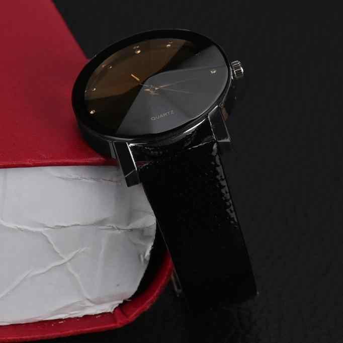 Relogio feminino קוורץ שורש כף יד שעונים גברים נשים צפו אופנה עסקים erkekler Saat שעון נשי רצועת עור מלאכותי זהב 2018