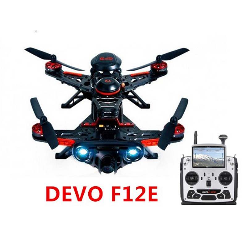 FPV Walkera Runner 250 Advance With DEVO F12E Transmitter FPV RC Drone Quadcopter with / OSD/1080P Camera/GPS 11 version RTF