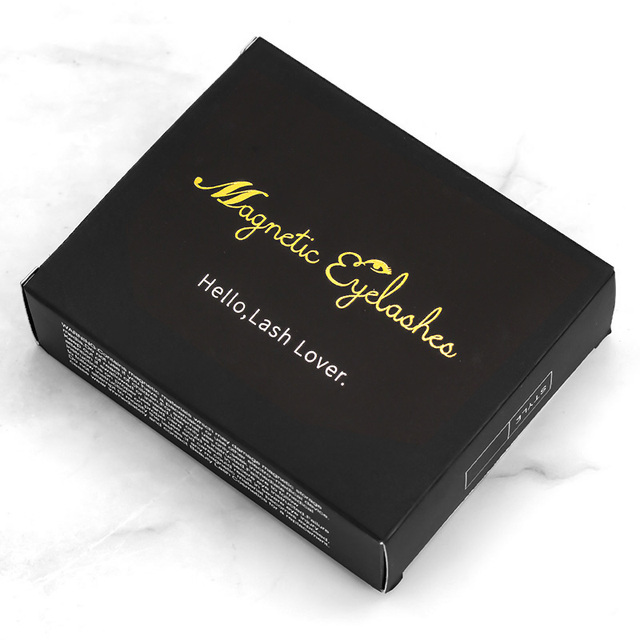 Genailish Magnetic eyelashes 4 part magnets handmade 3D/6D magnet lashes natural false eyelash comfortable with Gift Box SCT04-1 4