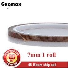 7 мм* 10 м* 0,13 мм клейкая лента тефлона, горячий запечатываний, импульса, уплотнение из термостойкого фторополимера Безразмерные;