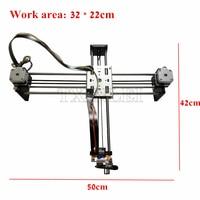 DIY Smart Writing Drawing Robot Mini XY 2 Axis CNC Pen Plotter Machine Advanced Toy Stepper Motor Drive Inkscape 32*22cm