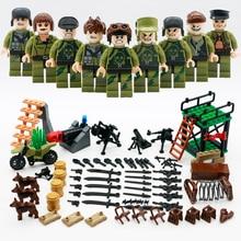 2018 Militar CS Commando Army Swat Soldados LegoINGlys Figuras de Ação Com As Armas Da Cidade Sets WW2 Armas Blocos Brinquedos de Guerra Mundial II