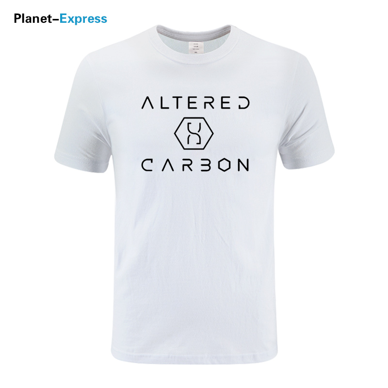 2019 New Arrival Summer Fashion Altered Carbon Print Tshirt Television TV Show Tops Tees Cotton Short Sleeve O-Neck T-Shirt Men