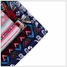 NeW 4 Pieces Of Printed Cotton linen Piecing Fabric Sewing DIY Textile Sofa Set Wallpaper 45cmX45 cm