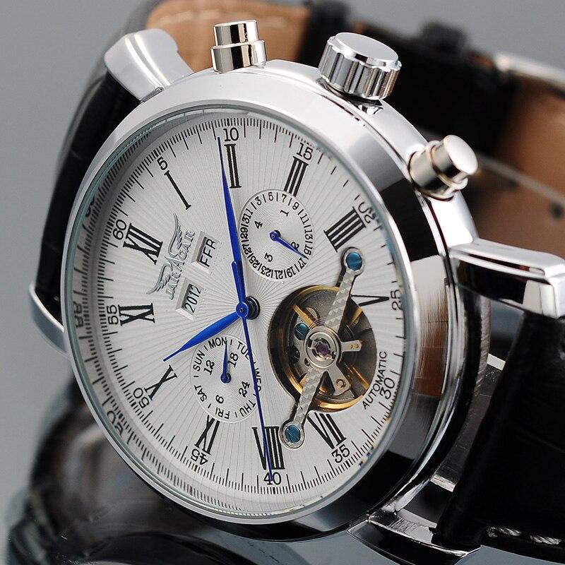 JARAGAR relógios mecânicos automáticos Turbilhão dos homens