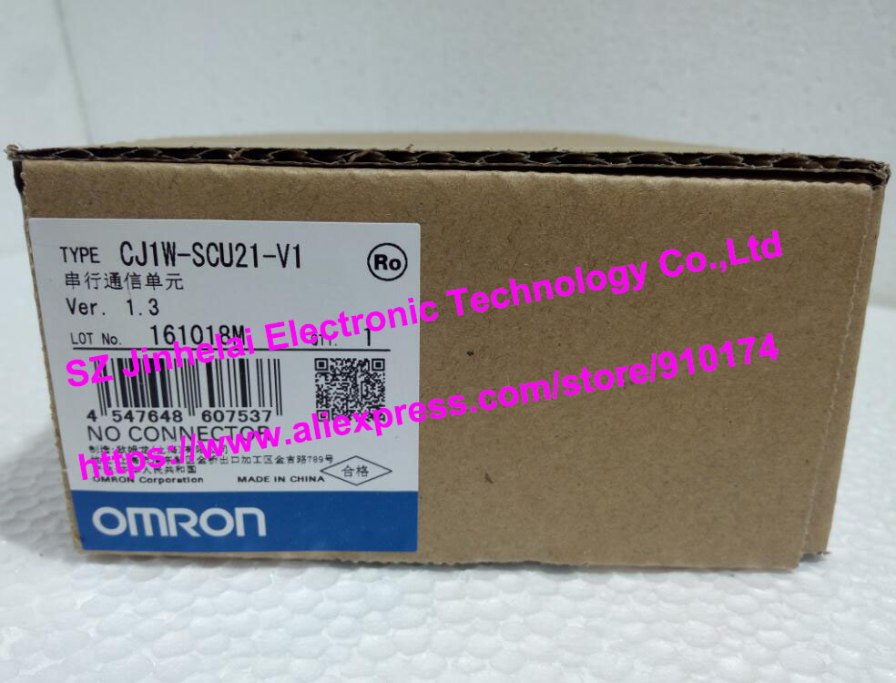 New and original CJ1W-SCU21-V1 OMRON Serial communication unit 100% new and original cj1w nc433 omron position control unit