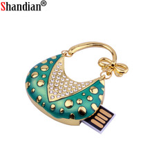 Crystal handbag Usb flash drive pendrive 4GB 8GB 16GB 32GB memory stick