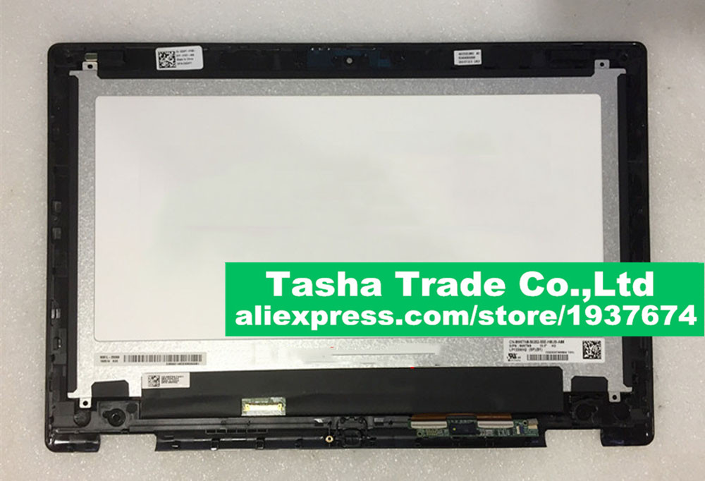 For Dell Inspiron 13-7352 for Dell 7352 Touch Screen Digitizer Assembly 1366*768 Original LP133WH2-SPB1 brand new for dell inspiron 13 7352 1920 1080 lcd touch screen digitizer full assembly with frame