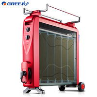 GREE ホーム自立型電気ヒーター 2500 ワットの強力なポータブル高速加熱エアコン大角ファンヒーター機 -