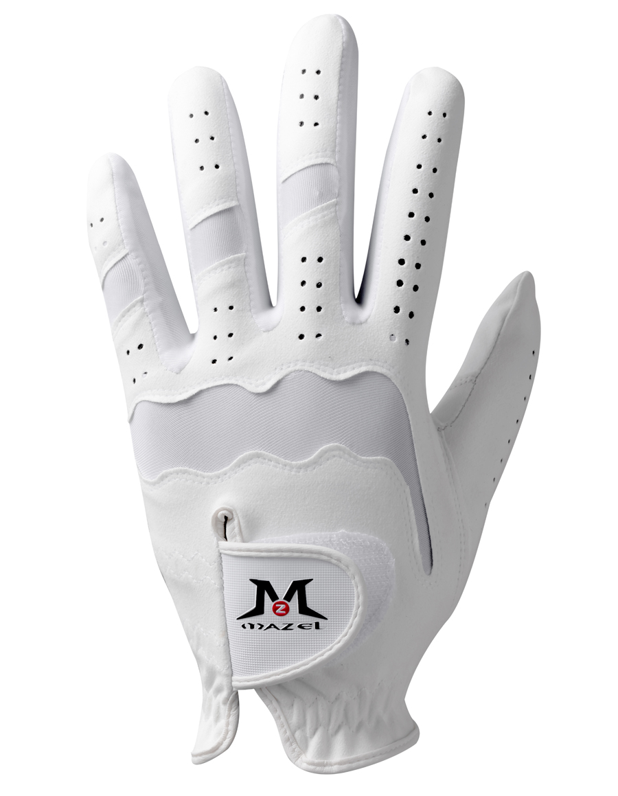 MAZEL Premium Men's Golf Gloves Left Hand,Hot Wet Weather Sweat-Absorbing,Fit Size S M L XL