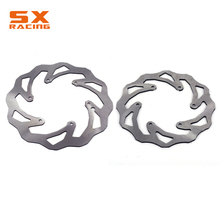 Motorcycle Front Rear Brake Disc Rotor For KTM EXC SX SXS GS MX XCW MXC EXCF SXF XCF LC4 125 144 150 200 250 300 350 450 525 530 new motorcycle rear brake disc rotor for yamaha wr yz 125 250 f250 426 hrd gs 97 250 d20