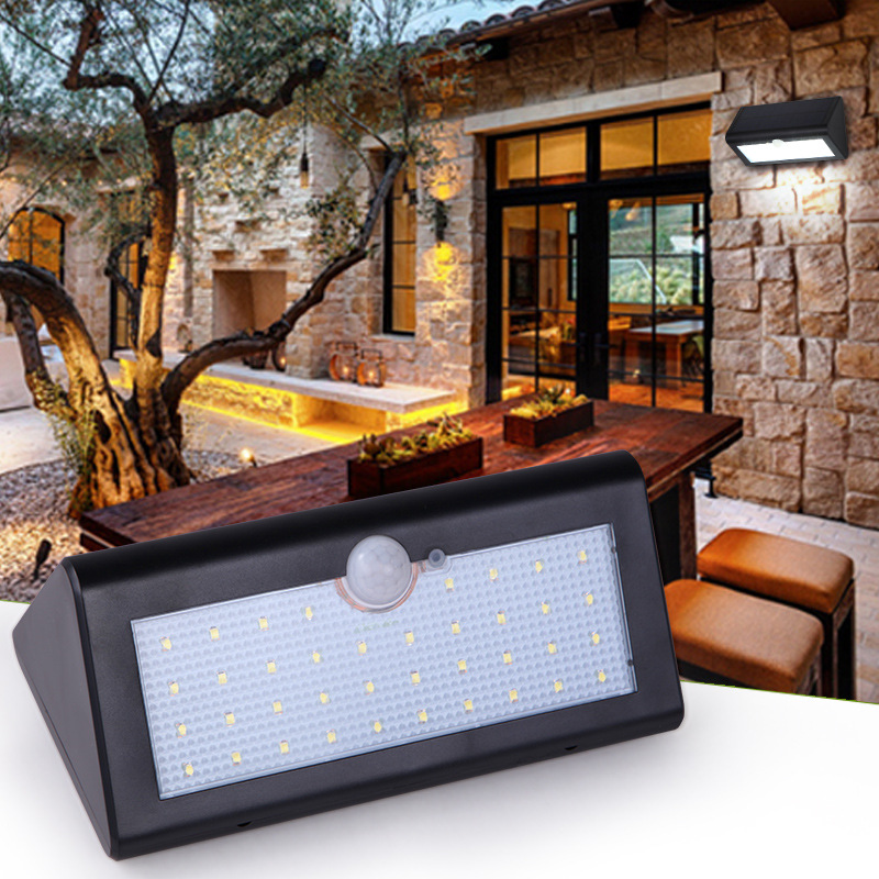 Outdoor Light Solar lighting LED super bright household outdoor waterproof courtyard body induction Courtyard body sens lamp super bright outdoor waterproof human body induction led solar energy wall lamp