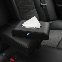 Car Tissue Box For BMW Genuine Leather High Quality napkin box for bmw f30 E46 E39 E36 X1 X3 X5 X6 M1 M2 M3 Car Styling