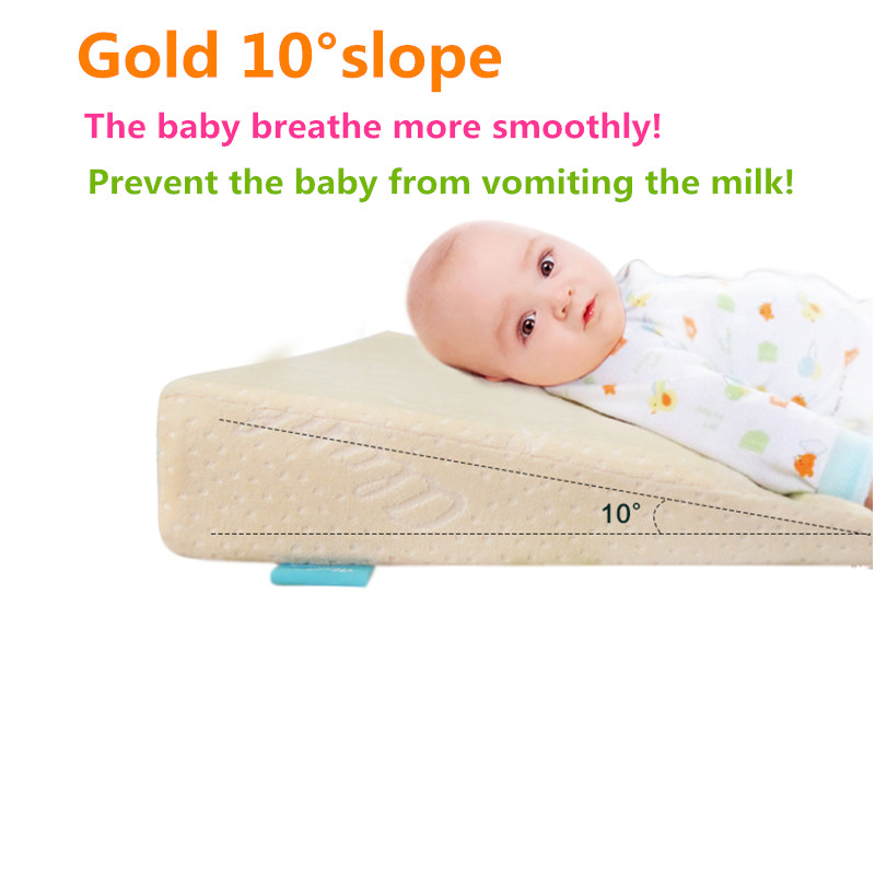 Baby Protective Pillow Wedge Pad for Newborns Prevent Baby from Vomiting milk Cushion