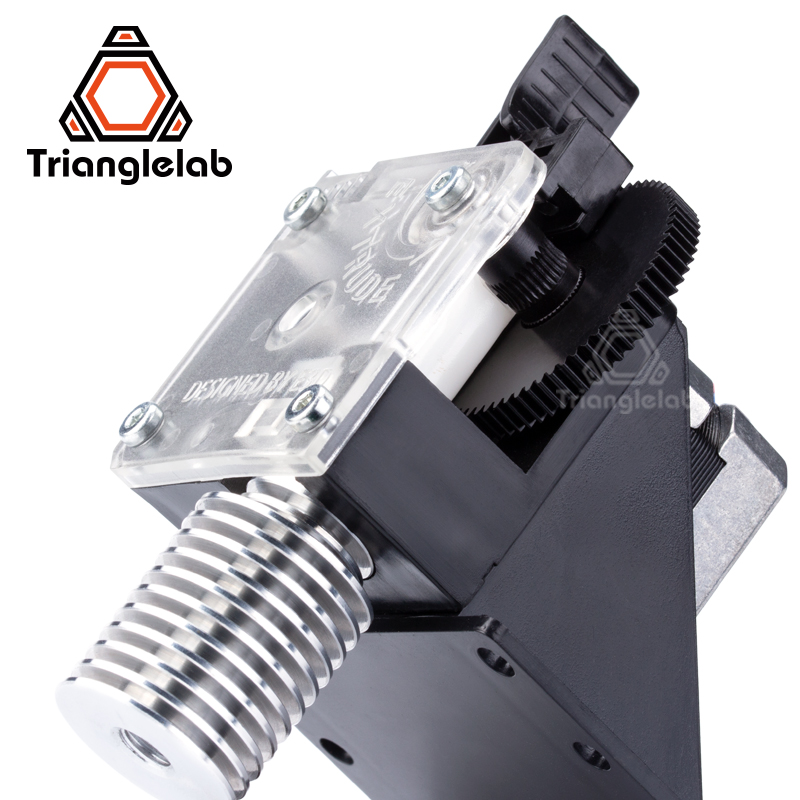 Trianglelab 3D printer titan Extruder for desktop FDM  printer reprap MK8 J-head bowden free shipping MK8 i3 mounting bracket trianglelab 3d printer titan extruder new metal gear hobb hardened steel free shipping reprap mk8 i3