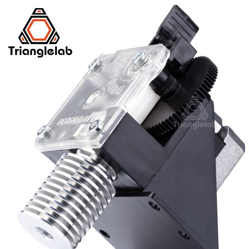 Trianglelab 3D printer titan Extruder for desktop FDM  printer reprap MK8 J-head bowden free shipping MK8 i3 mounting bracket 2018 new high quality fdm 3d printer for school and education wanhao i3 mini free shipping