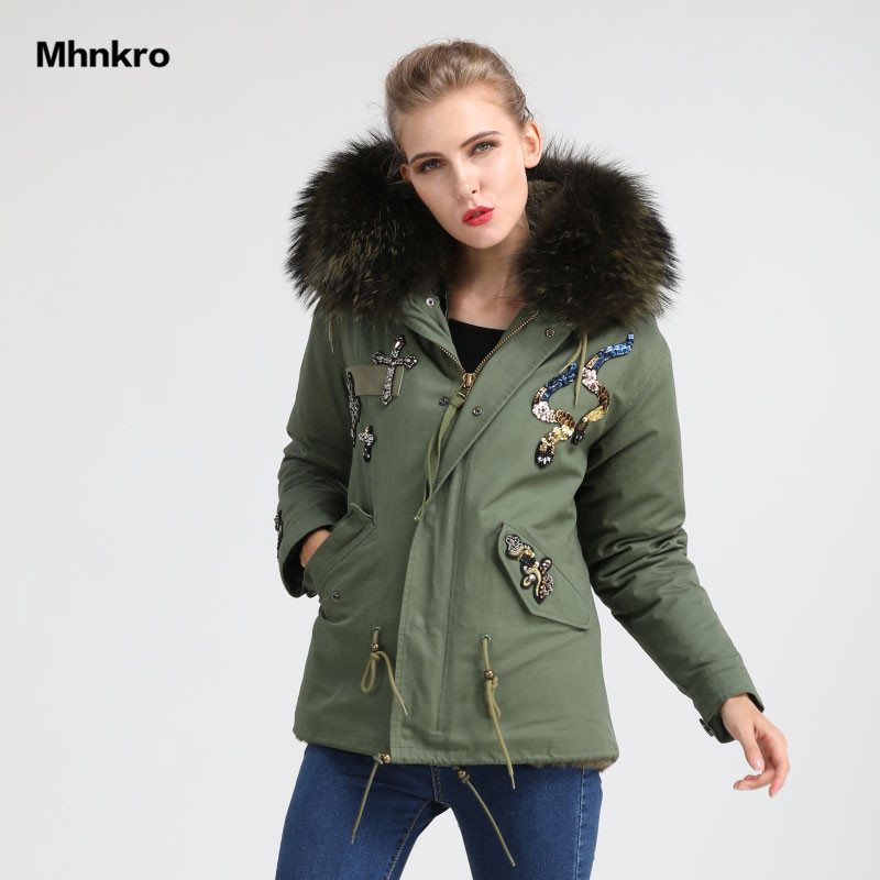 Moda Di Oliva Miltary Casual Giacca Pelliccia Verde Signore Spessore Arrivo Ozxa51wqn Mhnkro Usura Fur Wear Nuove Faux Perline AOcBqf6a