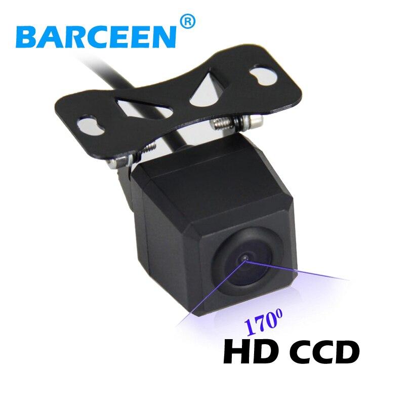 Cámara de marcha atrás de coche de venta directa de fábrica cámara de visión nocturna impermeable de 170 grados cámara de aparcamiento 12 V envío gratis