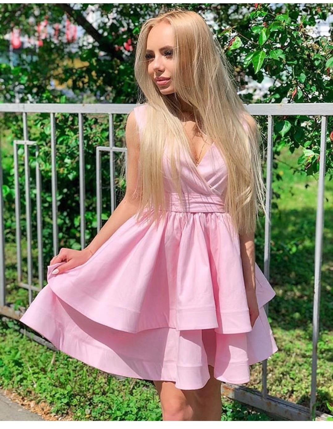 2019 Promotion robe limitée femmes Vestido De Festa Ukraine femmes robe d'été gilet taille haute bouffée Double princesse femme