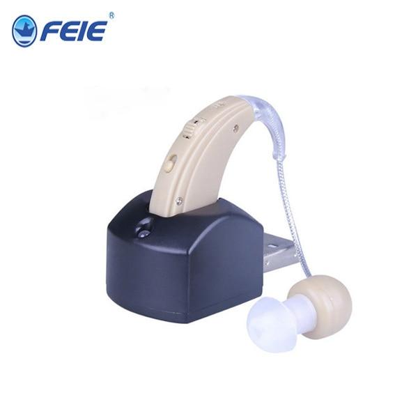 Rechargeable Hearing Aid Device Sound Voice Amplifier Enhancement Mini bte Digital Ear Care for the Elderly Deaf Aids S-109 cuidados com a orelha bte hearing aids for the elderly s 9c free shipping personal sound amplifier