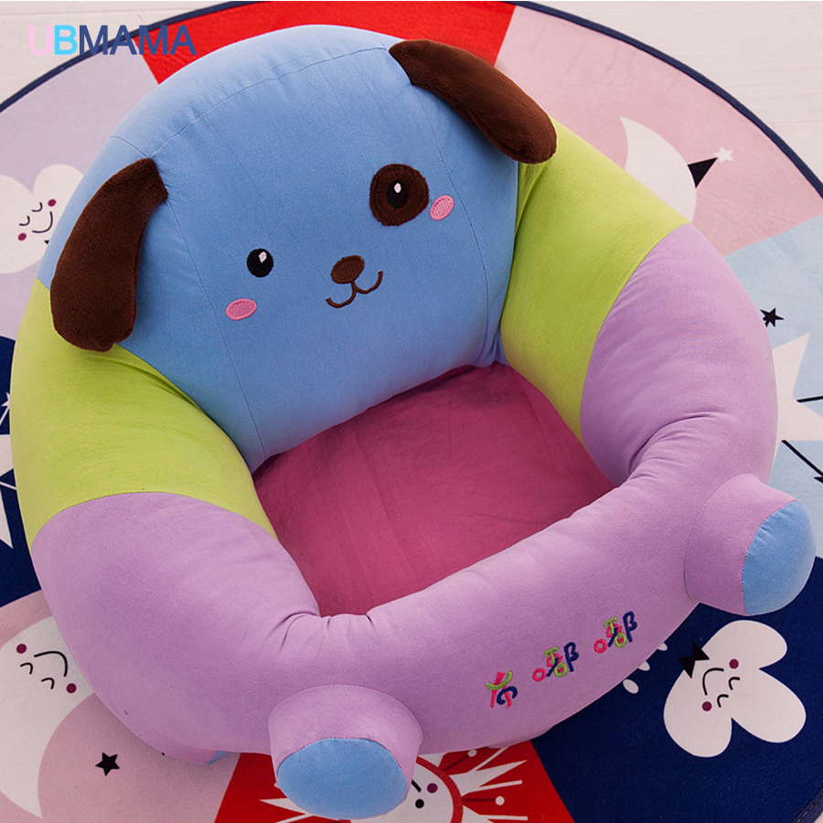 Baby cotton PP Cute cartoon animal's Play feed seat sofa Large Baby Learning To Sit Chair large size 50*45*20cm Baby sofa chair extra large children shampoo chair the shampoo chair baby shampoo chair