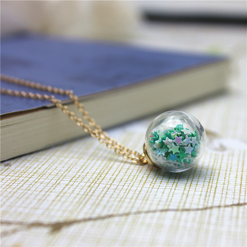 2017 new design summer style glass beads necklaces&pendants ...
