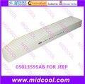 O envio gratuito de Alta qulality filtro de cabine Filtro De Ar não-tecido tecidos para 05013595AB