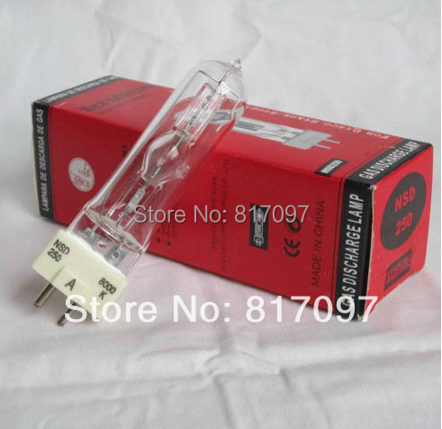 NSD 250W cabeza movil lampara18000lm GX9.5 8000k cabezas moviles bulbo lamparas de iluminacion luces discotecaNSD 250W cabeza movil lampara18000lm GX9.5 8000k cabezas moviles bulbo lamparas de iluminacion luces discoteca