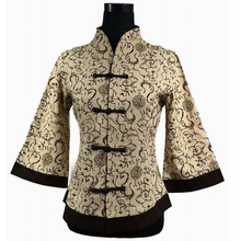 Beige Chinese Women Cotton Linen Shirt Handmade Button Blouse Traditional Tang Suit Top Oversize S M L XL XXL XXXL 4XL 5XL 2218