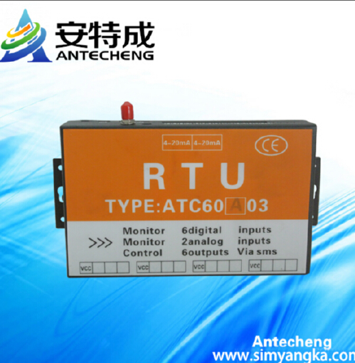 Free shipping Electronic water level controller ATC60A03 gprs rtu controller